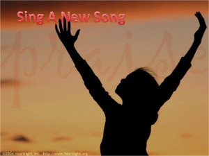 sing a new song 1